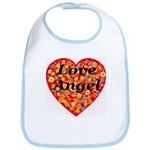 Love Angel Bib