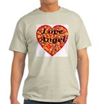 Love Angel Ash Grey T-Shirt