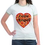 Love Angel Jr. Ringer T-Shirt