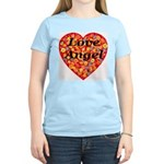 Love Angel Women's Pink T-Shirt
