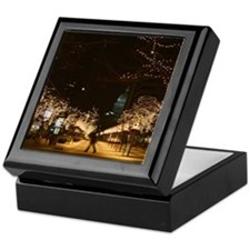 Downtown Night Lights Keepsake Box