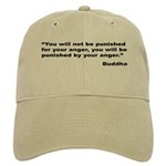 Buddha Anger Quote Cap