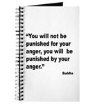 Buddha Anger Quote Journal