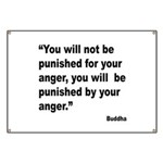 Buddha Anger Quote Banner