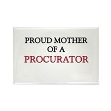 Proud Mother Of A PROCURATOR Rectangle Magnet (10