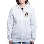 Fireman penguin Women's Zip Hoodie