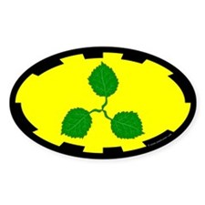 Caerthe populace Oval Sticker (50 pk)