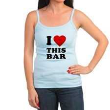 I Love This Bar Jr. Spaghetti Tank