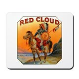 Red Cloud Indian Chief Mousepad