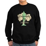 Descended from Dolphins Sweatshirt (dark)