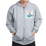 I am a Dolphin Zip Hoodie