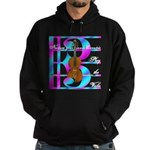 Violist, viola &quot;Eccentric&quot; Hoodie (dark)