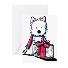 Westie Gift II Greeting Cards (Pk of 20)