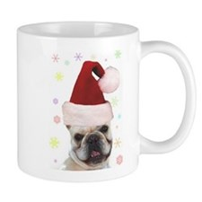 Christmas French Bulldog Mug