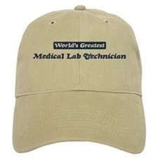 Worlds greatest Medical Lab T Baseball Cap