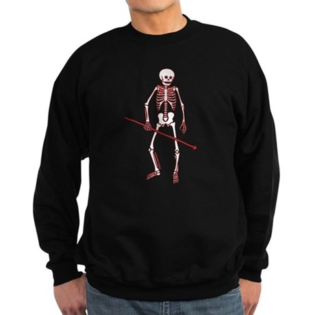 Hunting Skeleton Sweatshirt (dark)