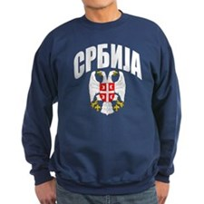 Serb Eagle Cyrillic Sweatshirt