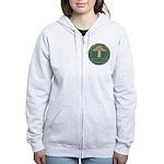 Mushroom Women's Zip Hoodie