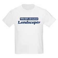 Worlds greatest Landscaper T-Shirt