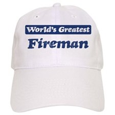 Worlds greatest Fireman Baseball Cap