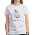 I Love My Bichon Frise Women's T-Shirt