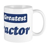 Worlds greatest Contractor Mug