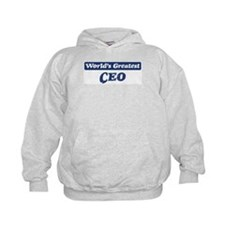 Worlds greatest CEO Hoodie