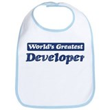 Worlds greatest Developer Bib