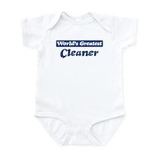 Worlds greatest Cleaner Onesie