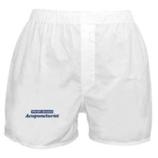 Worlds greatest Acupuncturist Boxer Shorts