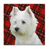 Westies are the Besties! Tile Coaster