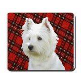 Westies are the Besties! Mousepad