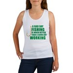 A Bad Day Fishing Women's Tank Top