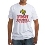 Fish Tremble Fitted T-Shirt