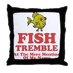 Fish Tremble Throw Pillow