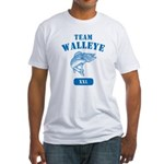 Team Walleye Fitted T-Shirt