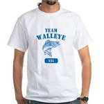 Team Walleye White T-Shirt