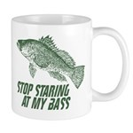 Stop Staring At My Bass Mug