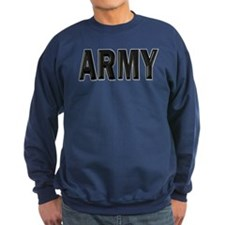 Circled US Army Star Sweatshirt