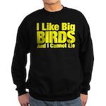 I Like Big BIRDS Sweatshirt (dark)