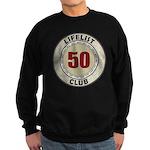Lifelist Club - 50 Sweatshirt (dark)