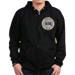 Lifelist Club - 400 Zip Hoodie (dark)