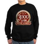 Lifelist Club - 3000 Sweatshirt (dark)