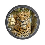Leopard Cheetaro Wall Clock