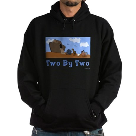 Noah's Ark Two By Two Hoodie (dark)