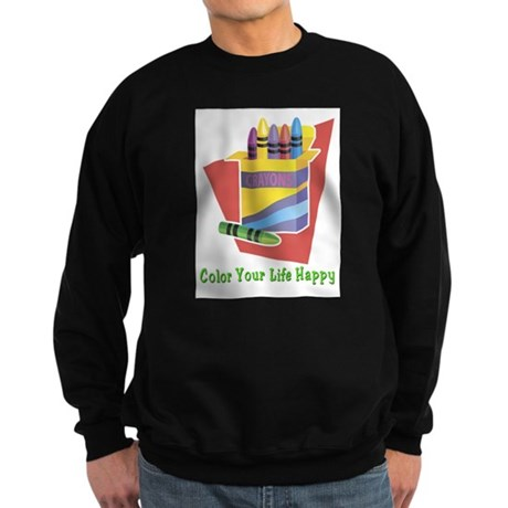 A Happy Life Sweatshirt (dark)