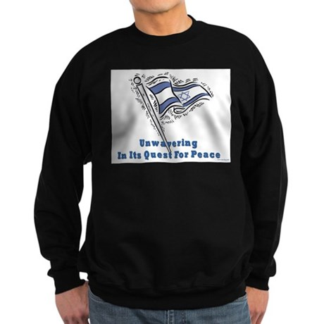 Israel's Quest for Peace Sweatshirt (dark)