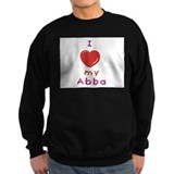 Jewish Kids Love Abba Sweatshirt