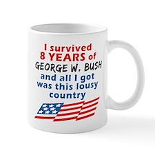 I Survived Bush... Country Mug
