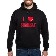 I Love Shabbat Hoodie